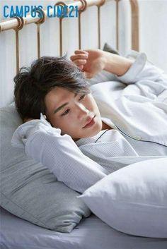 ZE:A's Hyungsik Gets Comfortable in His Pajamas with 'Campus Park Hyung Sik Hwarang, Park Hyung Shik, Cute Korean, Korean Men, Asian Actors, Korean Actors, K Pop, South Corea, K Drama