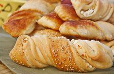 Bulgarian Food, Bulgarian Recipes, Bread Dough Recipe, Bread And Pastries, Pretzel Bites, Hot Dog Buns, Breads, Food Photography, Cooking Recipes