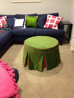 great little tutorial. cute basement idea or a thinking room...idk. this works in my head.