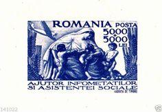 1947 Romania block Michel nr.36 (52x36mm)