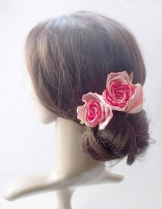 wedding hairpinroses for hairsmall rosesflower hair