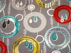Retro Age Vintage Fabric barkcloth | Flickr - Photo Sharing!