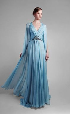 Gorgeous! Sky blue royalty gown