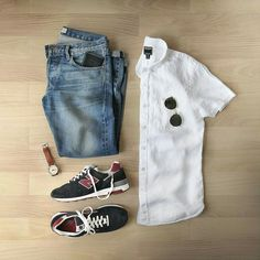 Casual Outfit Grids.