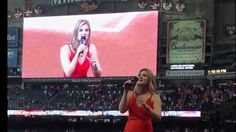 Houston Astros National Anthem by Elizabeth Eckert