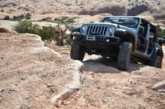 Jeep Wrangler at Moab
