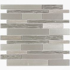 Elida Ceramica Sierra Linear Mosaic Stone And Gl Marble Wall Tile Common 12