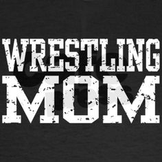 Wrestling Mom T-Shirt on CafePress.com