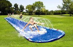 Slide N Slide!! These were awesome, but hurt so much when you fell on the ground! Haha...