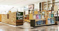 Pop Up Shop Design / Retail Design / Semi Permanent Retail Fixtures / VM / Retail Display / Westfield Doncaster pop up shop external view