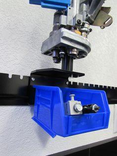 Underbin system for the Dillon 550 & 650 toolhead docks.