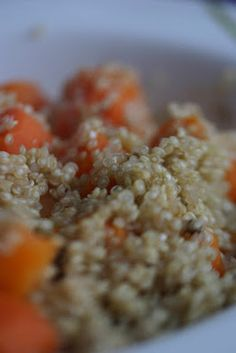 #quinoa #carote #miso #olio d'oliva extravergine #evo