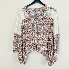 Brand new with tags. Rich colors and a flattering cut. Perfect for that boho or gypsy look! Bohemian Tops, Boho, Gypsy Look, Love Clothing, Sustainable Clothing, Rich Colors, Slow Fashion, Blouses For Women, Kimono Top