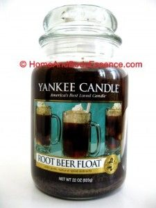 yankee candle  Rootbeer float