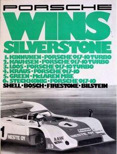 Vintage-porsche-Silverstone-motor-racing-Poster-A3-imprimer