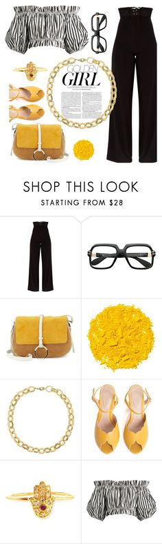 """""""that Girl is Golden"""" by felicitysparks ❤ liked on Polyvore featuring Murphy, Halston Heritage, Illamasqua, Laundry by Shelli Segal, SPECIAL DAY, Sydney Evan and Dolce&Gabbana"""