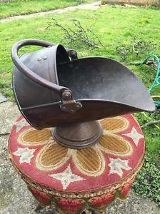 Large Heavy Copper Coal Scuttle | eBay