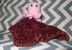 Octopus Lovey Blanket Rattle by GypsySoulsCrafts on Etsy