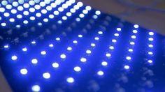Skin made of LEDs.  Gourdon lighting designer