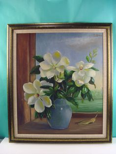 Magnolia Still Life By Lila Shelby