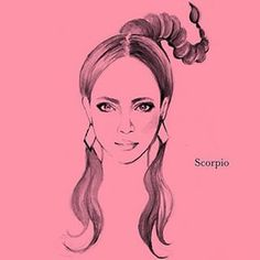 Scorpio Horoscope Zodiac Art, Zodiac Signs, Scorpion, Fashion Art, Drawing Fashion, Astronomy Tattoo, Aries Constellation Tattoo, 30 Day Drawing Challenge, Digital Illustration