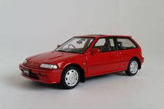 The EF-generation Honda Civic Si, one of history's finest front-wheel-drive performance cars. 1:43-scale model car by Mark 43, now at Model Citizen Diecast.