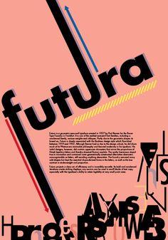 Futura Poster by El-Asa Crawford, via Behance