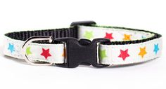 Cat Collar  The Headliner by sweetpicklesdesigns on Etsy, $12.00