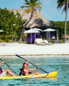 Paddle and explore the spectacular barrier reef on complimentary sea kayaks. #Jetsetter  http://www.jetsetter.com/trips/3222/two-sides-of-belize?nm=collection=5