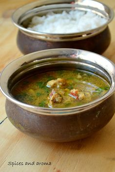 Spices and flavor: Chicken rasam – A South Indian soup - Easy Food Recipes Healthy Indian Recipes, Healthy Soup Recipes, Veg Recipes, Asian Recipes, Cooking Recipes, Andhra Recipes, Fast Recipes, Curry Recipes, Recipes Dinner