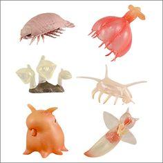 不思議生物大百科 深淵の居住者 深海生物 | 商品詳細情報 | 商品をさがす | タカラトミーアーツ