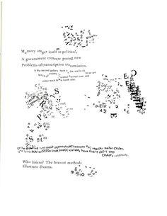 "From ""Stochastic Poetics"" by Johanna Drucker"
