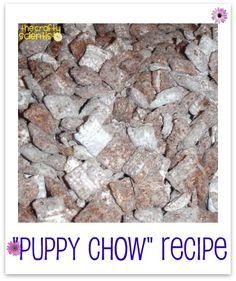 puppy chow recipe