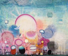 Matías Krahn. De la K al Omega. Óleo sobre tela,162x195 cm, 2012.