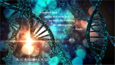 Is the ultimate cosmic power hiding somewhere in your DNA? It would be a crime to keep it chained, would it not? Sci Fi Authors, Twin Brothers, Cosmic, Dna, Science Fiction, Dreaming Of You, Flow, How To Find Out, Crime