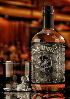Jack Daniel's Motorhead Packaging