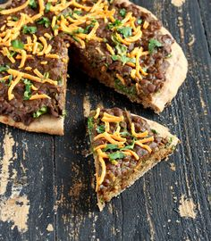 Missir Wot Pizza - Ethiopian Red lentil stew and Kale on Glutenfree Teff crust. vegan gluten-free recipe   #vegan #food Check out our organic teatox : http://organicteatox.com/