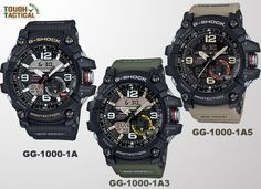 The New G-Shock GG-1000 Mudmaster - Powered Up With Twin Sensor 7f21abd3a3