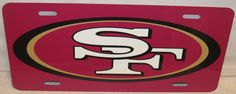 NFL SAN FRANCISCO 49ers Forty Niners Custom Printed by Tailgators2, $14.99