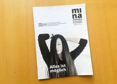 Mina #magazine #Layout #corporatepublishing #design wppt:kommunikation wuppertal Westdeutsche Zeitung: Konzeption, Redaktion, Umsetzung und Fotografie