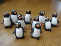 Penguins - These were the penguins for my winter cake.  TFL.
