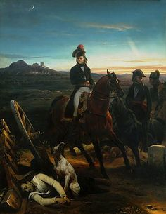 Napoleon after the Battle of Bassano, Sept. 8, 1796, a French victory over the Austrians.