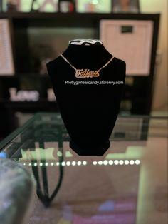 #necklace #name Custom Jewelry, Gold Jewelry, Custom Name Necklace, Names, Personalized Jewelry, Gold Jewellery, Gold Bridal Jewellery