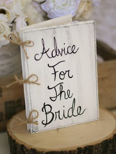 Have one for the bride and one for the groom.  It would be a great thing to look back on every year!