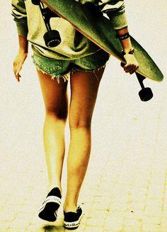 Summer Longboarding.