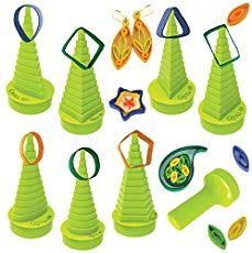 Ultimate Border Buddy & Quilling Tool With 7 Shape Towers For Making Paper Qu. Ideas Quilling, Quilling Supplies, Paper Quilling Flowers, Paper Quilling Jewelry, Paper Quilling Patterns, Origami And Quilling, Quilling Paper Craft, Paper Beads, Paper Crafts