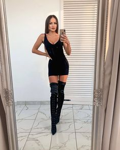 Thigh High Boots Heels, Knee Boots, Heeled Boots, Thigh Highs, Thighs, Videos, Photos, Instagram, Fashion