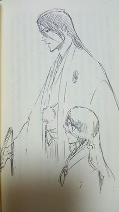 They were supposed to get married but it didn't happen :/ Bleach Rukia, Bleach Manga, Shinigami, Oc Drawings, Drawing Sketches, Anime Manga, Anime Art, Manga Pages, Anime Ships