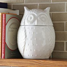 Owl Cookie Jar - 25% off site wide - use code STOCKUP