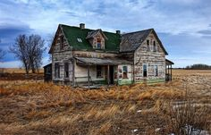 Once cared for farm house
